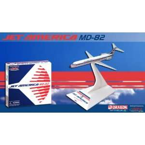 Jet X Jet America MD 82 Model Airplane