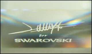UNUSUAL LARGE SWAROVSKI AUSTRIAN CRYSTAL CUT GLASS BOWL