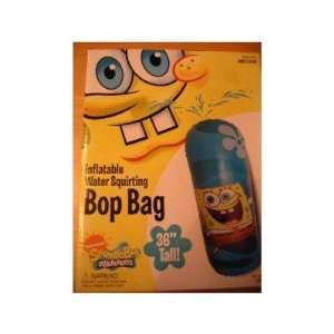 SpongeBob SquarePants Inflatable Water Bop Bag: Toys & Games