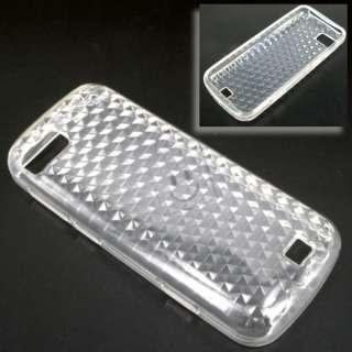 Soft Gel Tpu Case Cover For Nokia C3 01 C3 01 White