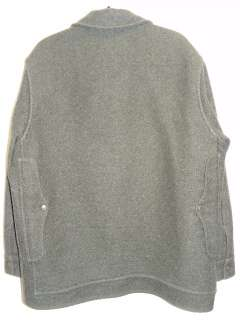 Filson Coat Mackinaw Cruiser Jacket 100% Virgin Wool Green 48
