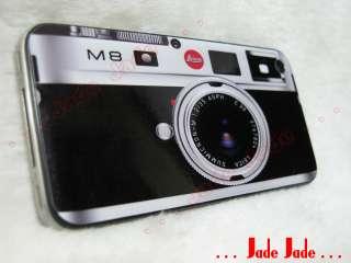Lecia M8 Silver Vinyl Skin Sticker iPhone 4 Protective