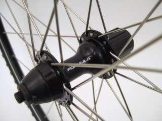 700c CYCLOCROSS ROAD BIKE WHEELS DISC WHEEL SET ALEX DA28 W/ KENDA
