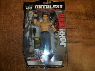 JOHN CENA WWE JAKKS RUTHLESS AGGRESSION 44 FIGURE