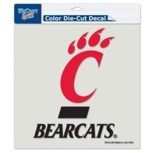 Cincinnati Bearcats 8x8 Die Cut Decal