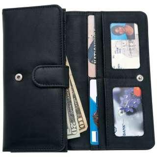 Embassy Ladies Solid Genuine Leather Wallet