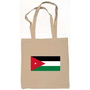 Jordan, Jordanian Flag Tote Bag Natural: Everything Else