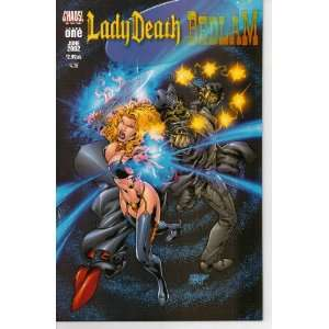 Lady Death and Bedlam, Edition# 1: Books