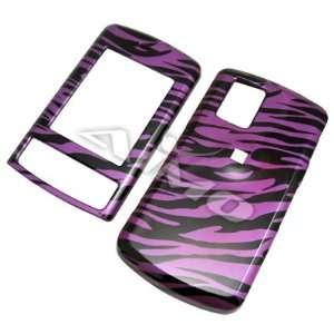 PINK ZEBRA snap on hard case faceplate for LG CU720 Shine (many other