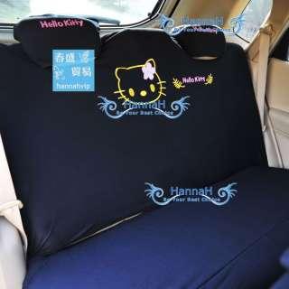 10 pcs Hello Kitty CAR SEAT COVERS Universial Full Set Front & Rear