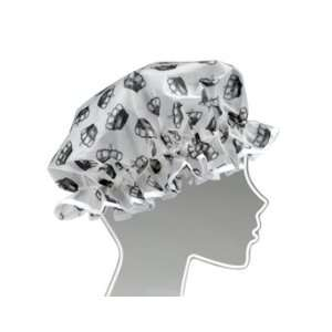 Black Crowns Ladies Shower Cap   Ore Health & Personal
