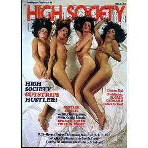 HIGH SOCIETY MAGAZINE SEPTEMBER 1977: Gloria Leonard: Books