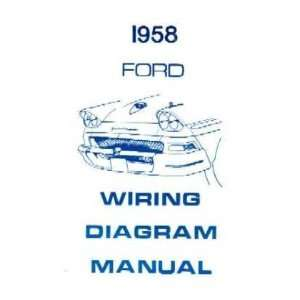 1958 FORD Full Line Wiring Diagrams Schematics Automotive