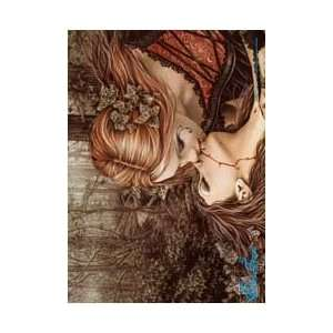 Victoria Frances   Kiss   Fabric Poster 30 x 40   #131