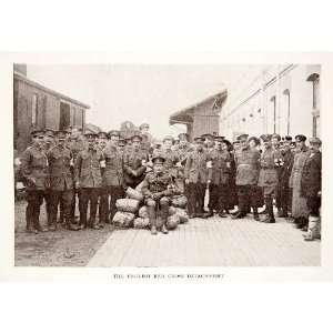 1913 Print English Red Cross Unit Military World War I Uniform