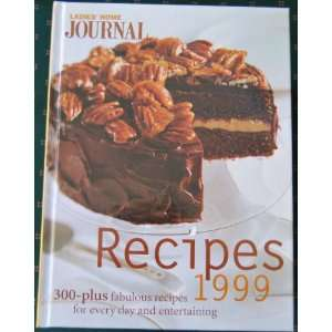 Ladies Home Journal Recipes 1999 Unknown Books