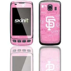 San Francisco Giants   Pink Cap Logo Blast skin for LG