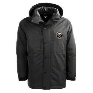 Buffalo Sabres Black Trek Full Zip Hooded Jacket: Sports