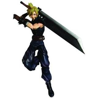 Final Fantasy VII Cloud Strife & Hardy Daytona Action Figure Deluxe