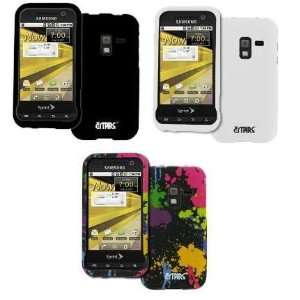 Case Covers (Black, White, Paint Splatter): Cell Phones & Accessories