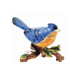 Blue Bird Treasure Box