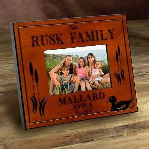 Cabin Series Wood Duck Picture Frames: Home & Kitchen