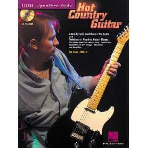 Hal Leonard Hot Country Guitar (Book/CD) Musical