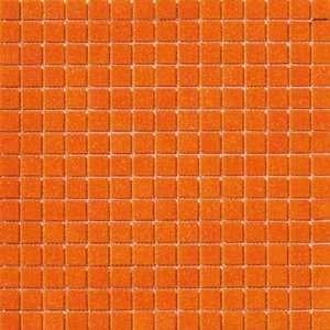 Marazzi Glass Mosaics 1 x 1 Orange Ceramic Tile