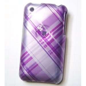 New Orchid Light Purple Cross Plaid Checker Color Design