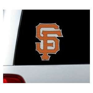 San Francisco Giants 12x12 Die Cut Window Film Sports