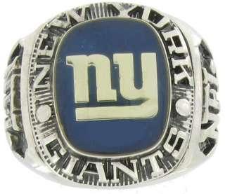 Football New York Giants Offical NFL Team Ring Sz 8