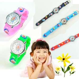 Cute Doraemon Child Watch for Boys & Girls Christmas Gift 5 colours