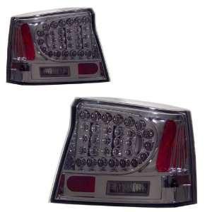 2006 2008 Dodge Charger KS LED Red/Smoke Tail Lights Automotive