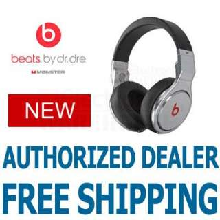 Monster Beats Dr. Dre Pro Spin Headphones Black