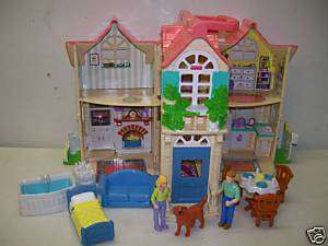 FISHER PRICE SWEET STREETS COUNTRY HOUSE LOADED