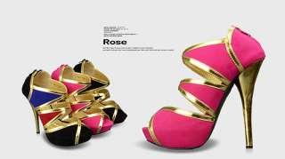Open Peep Toes High Heels Womens Shoes Stilettos Platforms Sandals