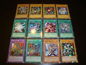 ! Blue Eyes White Dragon Dark Magician Red Eyes Dark Paladin SET NM/M