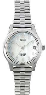 Timex Womens Watch Silver Tone/Gold Tone/Two Tone Expansion Band