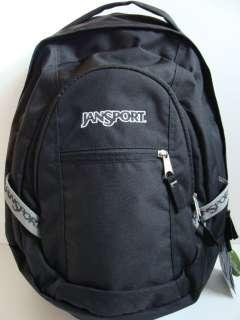 NWT JANSPORT Trinity Black Laptop Backpack Book Bag NEW