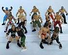 WWE WWF Wrestling 5cm Action Figures Toys 10pc Lot (Randomly Assigned)