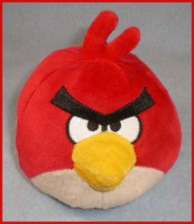 Commonwealth Angry Birds Plush Toy 4 RED Bird New