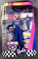 BARBIE NASCAR 50TH ANNIVERSARY 1998 DOLL MATTEL #20442