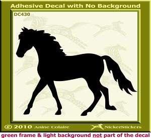 Missouri Fox Trotter Horse Trailer Decal Sticker 430