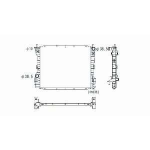 05 08 FORD MUSTANG , 4.0/4.6L V6/V8, AUTOMATIC TRANSMISSION, PARTSLINK