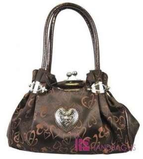 NWT Designer Inspired HEART & LOVE Fashion Clutch Bag Handbag Purse
