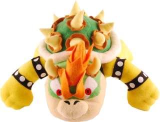 Super Mario Bros 10 Bowser Plush Doll *New*