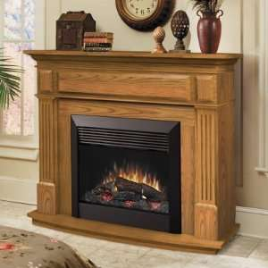 Dimplex Preston Oak Electric Fireplace: Home & Kitchen