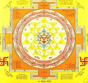 Big Sri Yantra Amulet Spiritual and Material Wealths ++