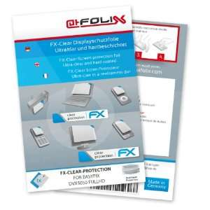 FX Clear Invisible screen protector for Easypix DVX5050 fullHD / DVX