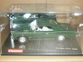 CARRERA EVOLUTION 1/32 SLOT CAR PONTIAC GTO 1966 EVO